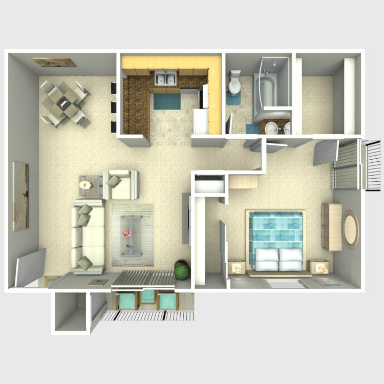 Floor plan image of Tule
