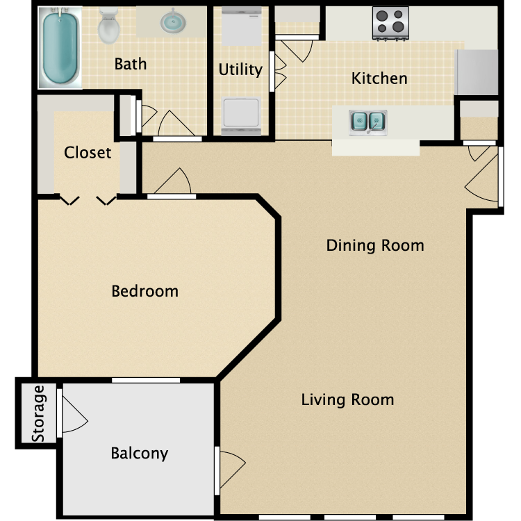Floor plan image of Murfield