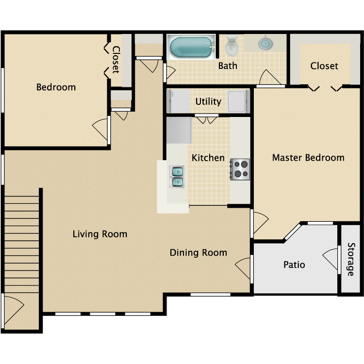Floor plan image of St. Andrews