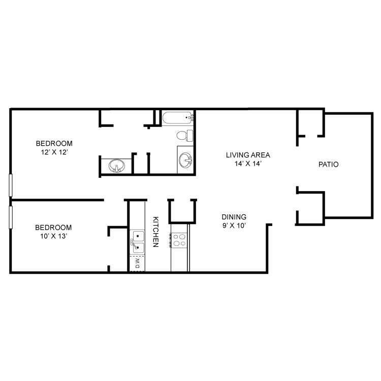 Floor plan image of Willow