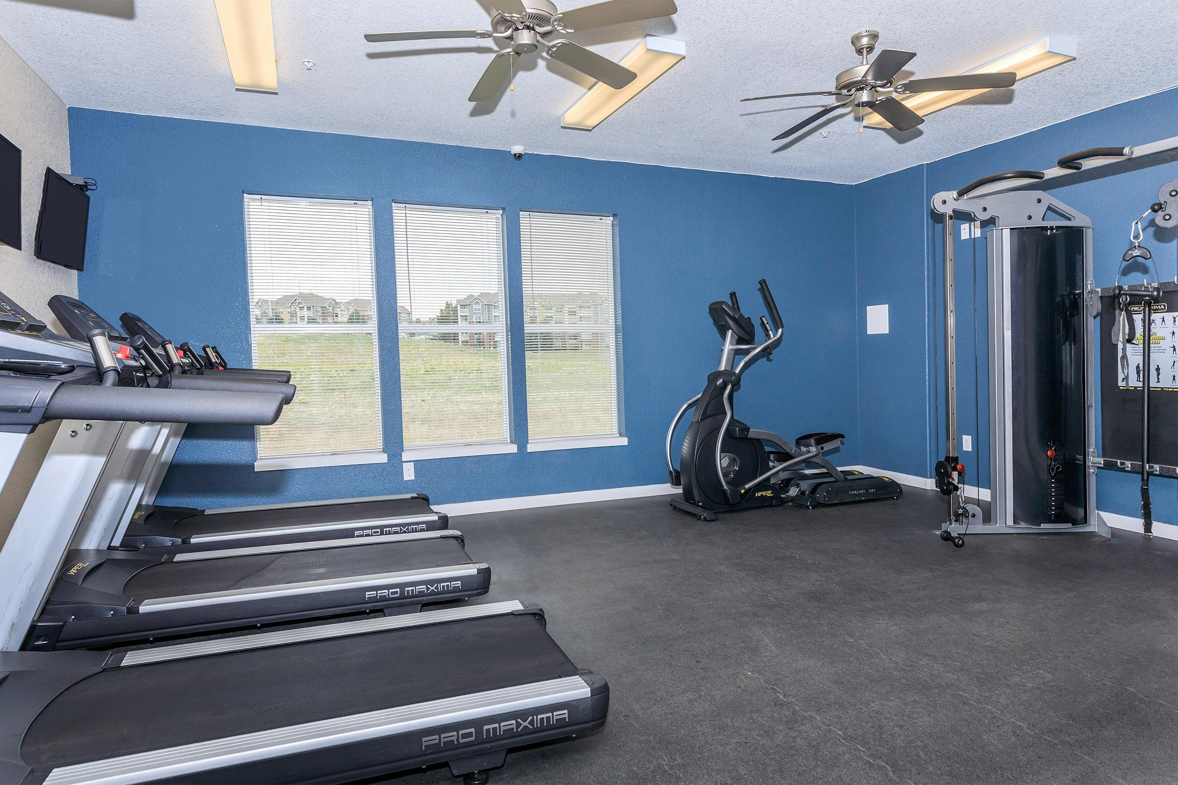 Fitness Center at Parker Flats at Old Town in Parker, CO