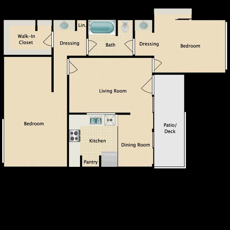 Floor plan image of Plan A