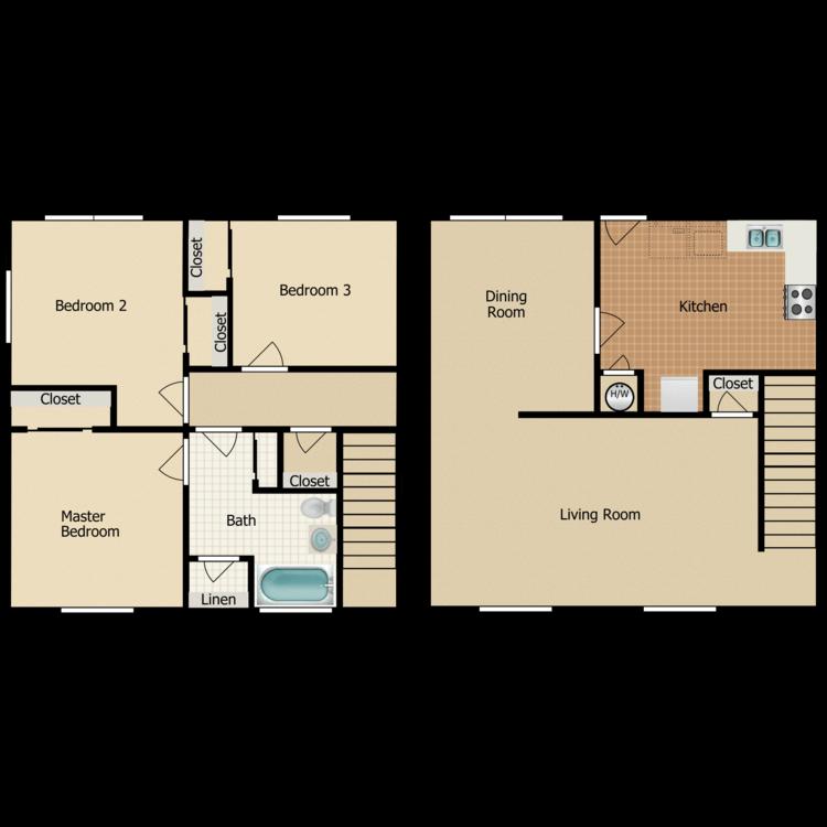 Floor plan image of C1 TOWNHOME
