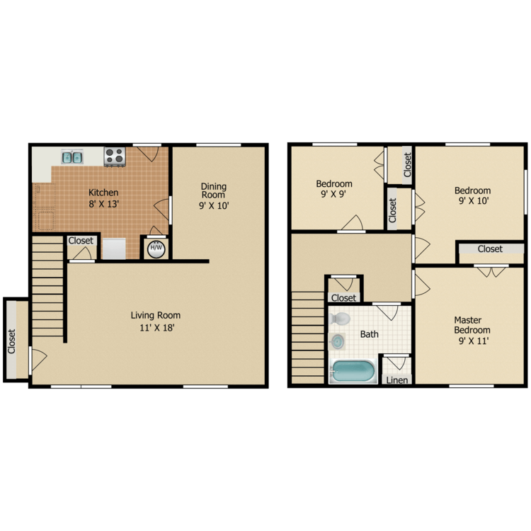 Floor plan image of C2 TOWNHOME