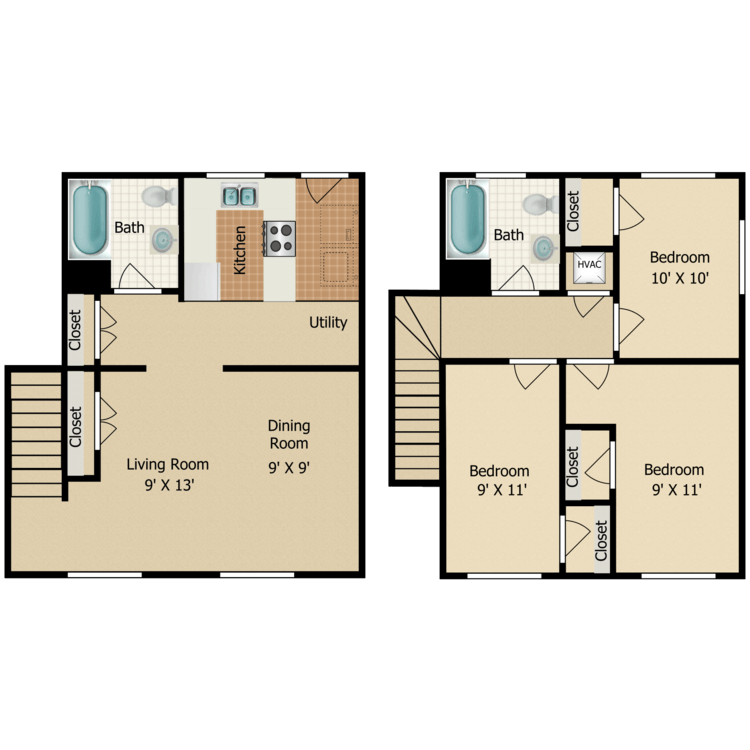 Floor plan image of C7 TOWNHOME