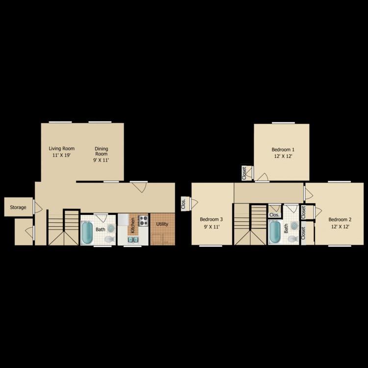 Floor plan image of C9 TOWNHOME