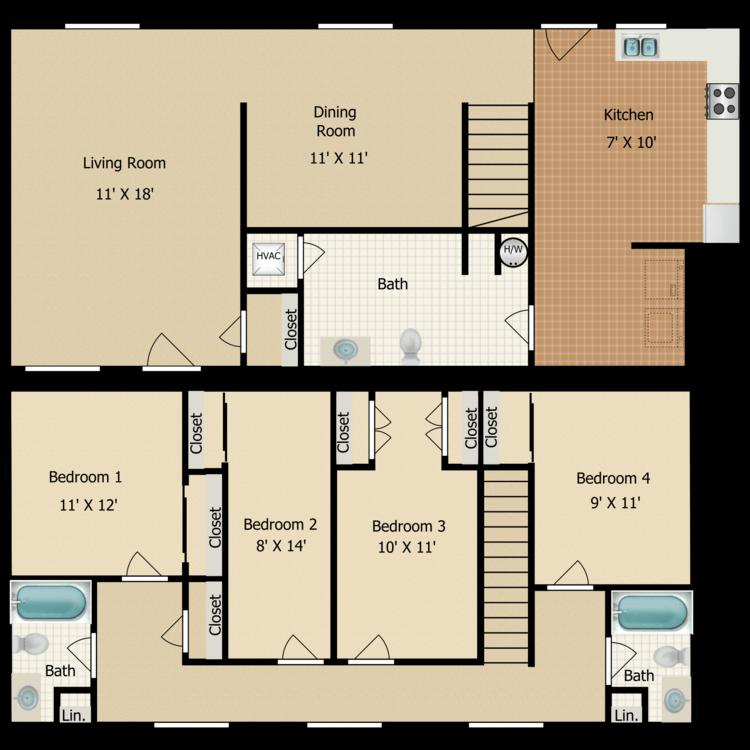 Floor plan image of D5 TOWNHOME