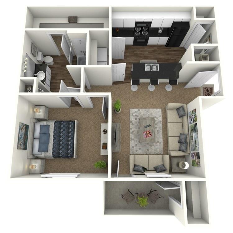 Floor plan image of The Cabin