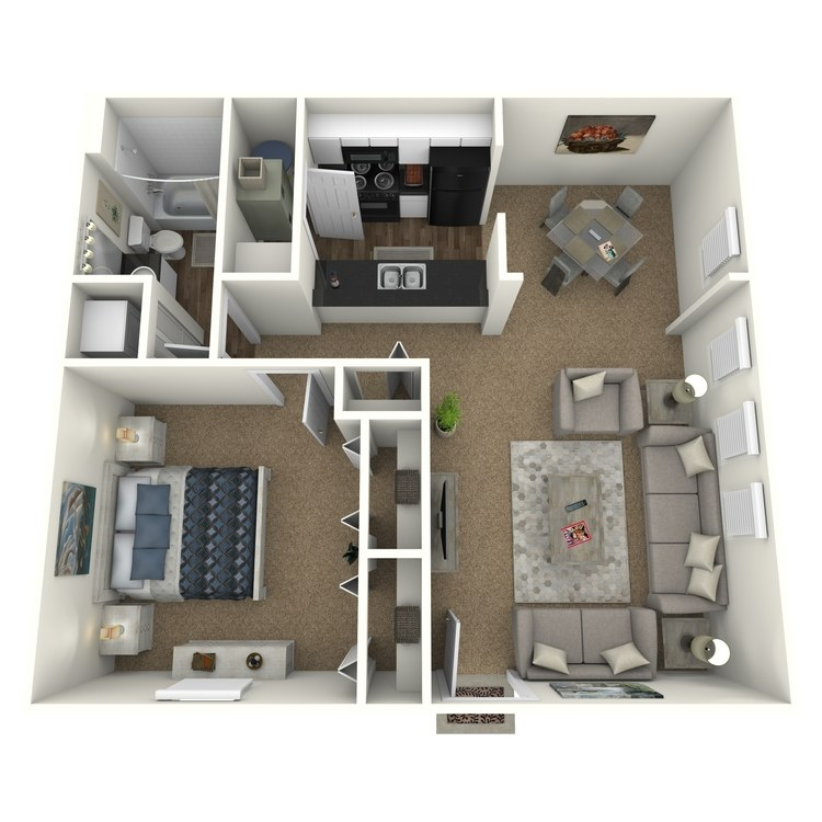 Floor plan image of The Bellows