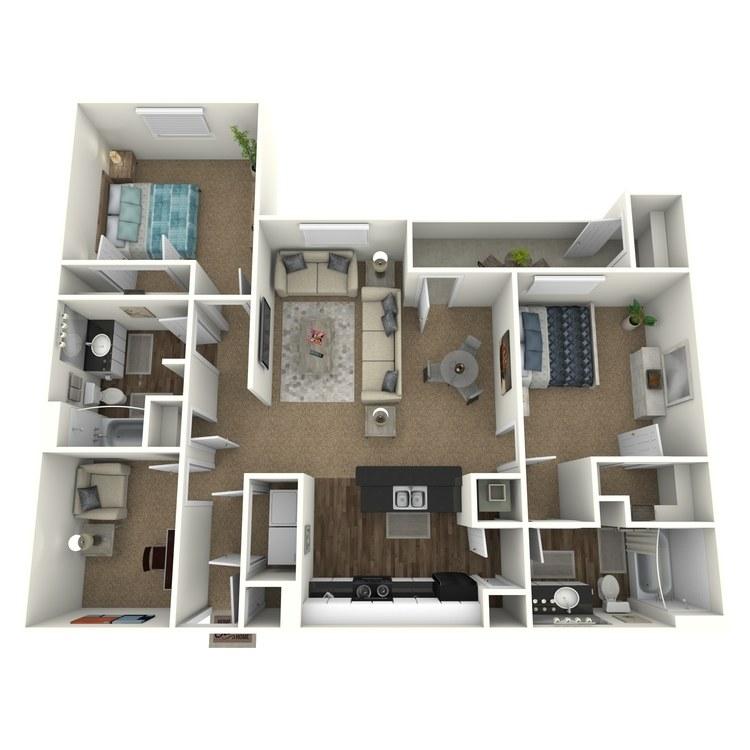 Floor plan image of The Boiler