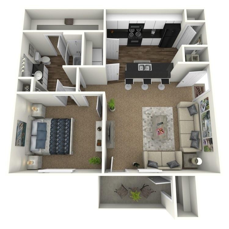 Floor plan image of The Axle