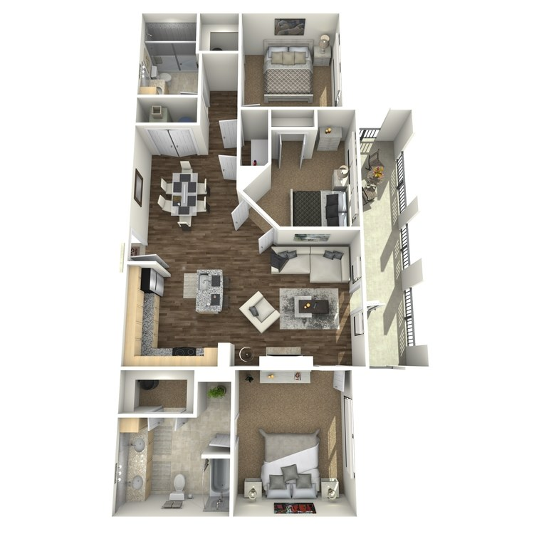 Floor plan image of Dorado