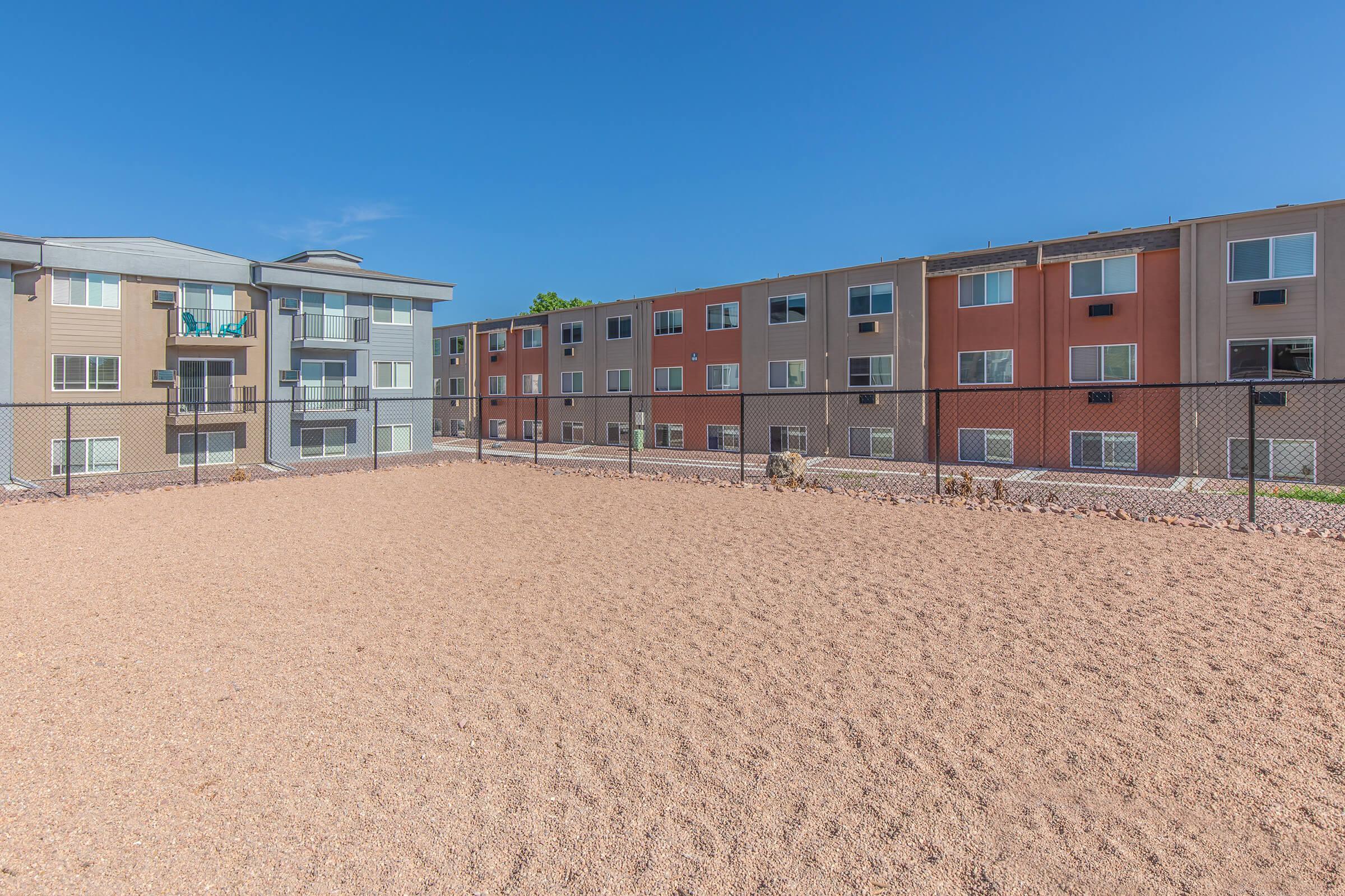 a building on a beach