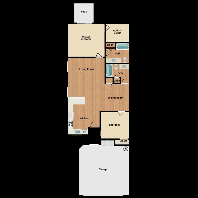 Floor plan image of Floor Plan A