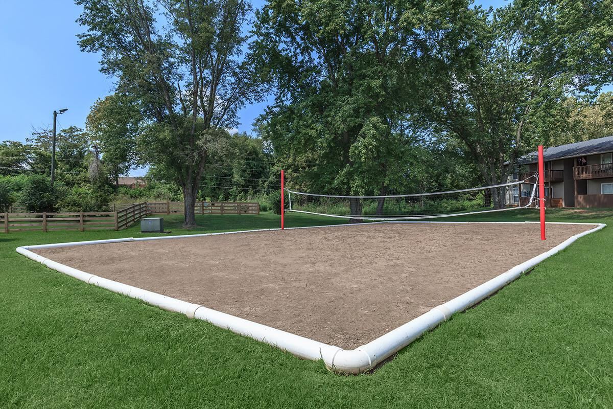 Sand Volleyball Court at Hunter Chase