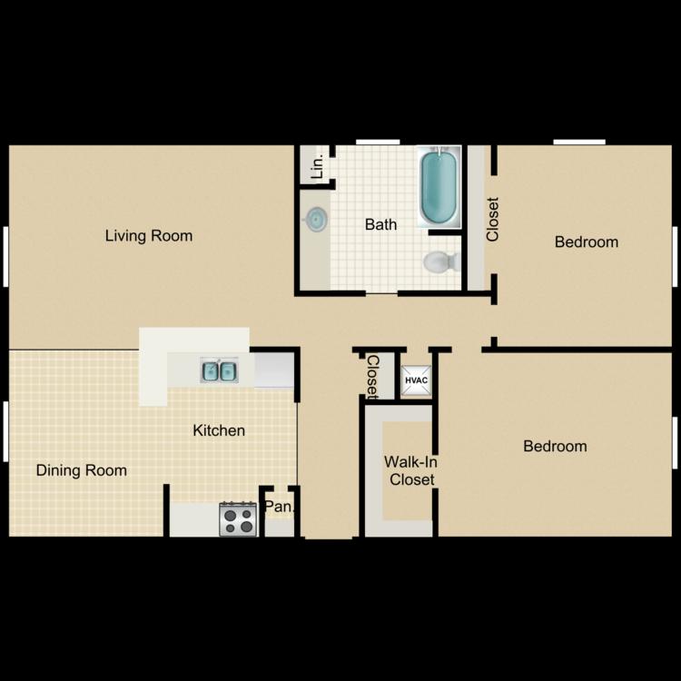 Floor plan image of Cypress Manor