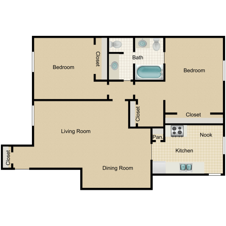 Floor plan image of Laural House