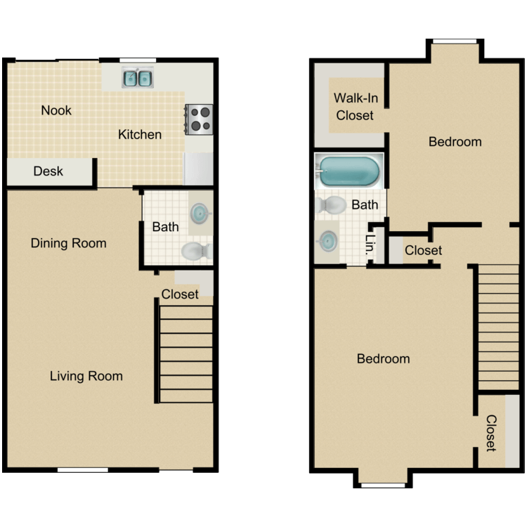 Floor plan image of Mahogany Tower