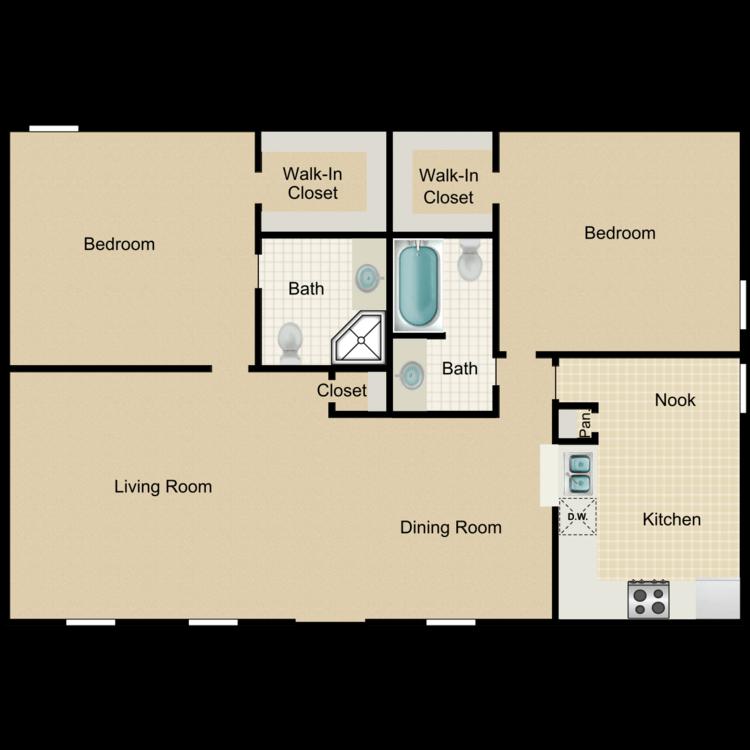Floor plan image of Oak Lodge