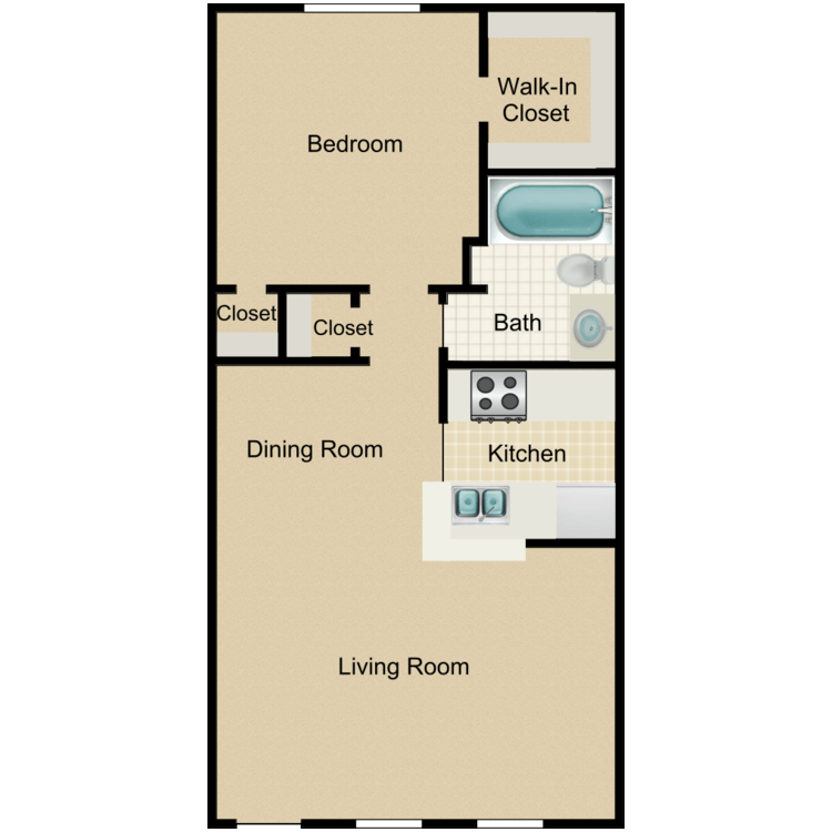 Floor plan image of Spruce Cove
