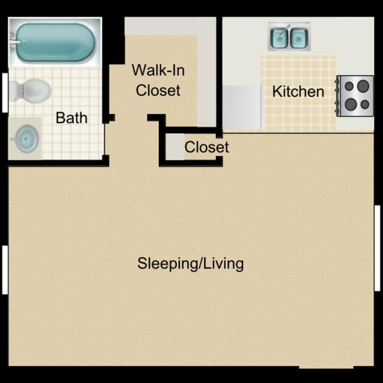 Floor plan image of Teakwood