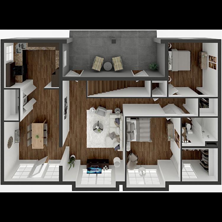 Floor plan image of B Remodel