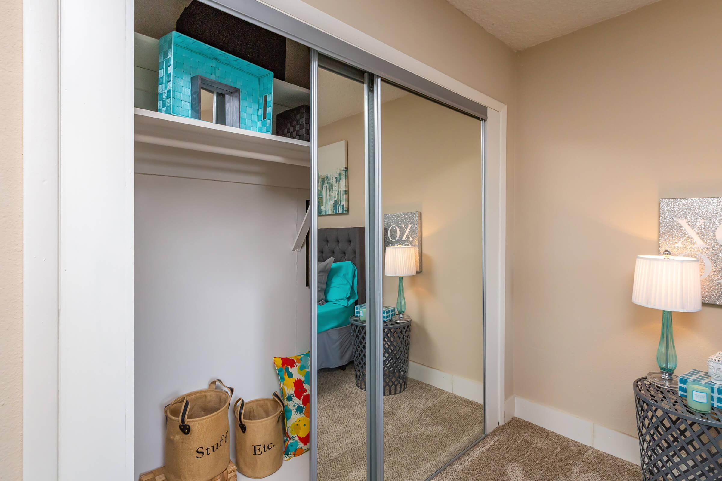 LARGE CLOSETS AT CRESTRIDGE IN KNOXVILLE, TN