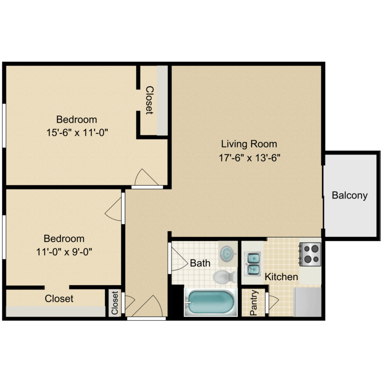 Floor plan image of The Cedar