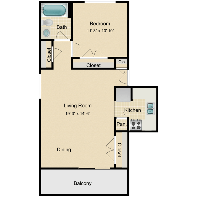 Floor plan image of The Linden