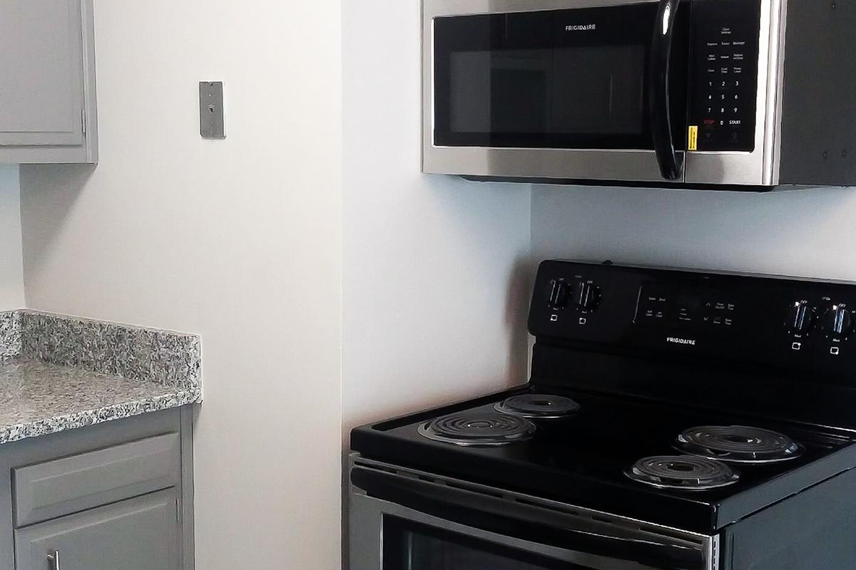 Microwave Included at The Kensington Apartments