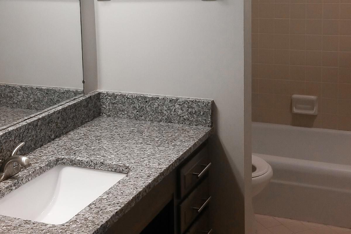 Modern Baths in Apartments for Rent in Columbia, TN