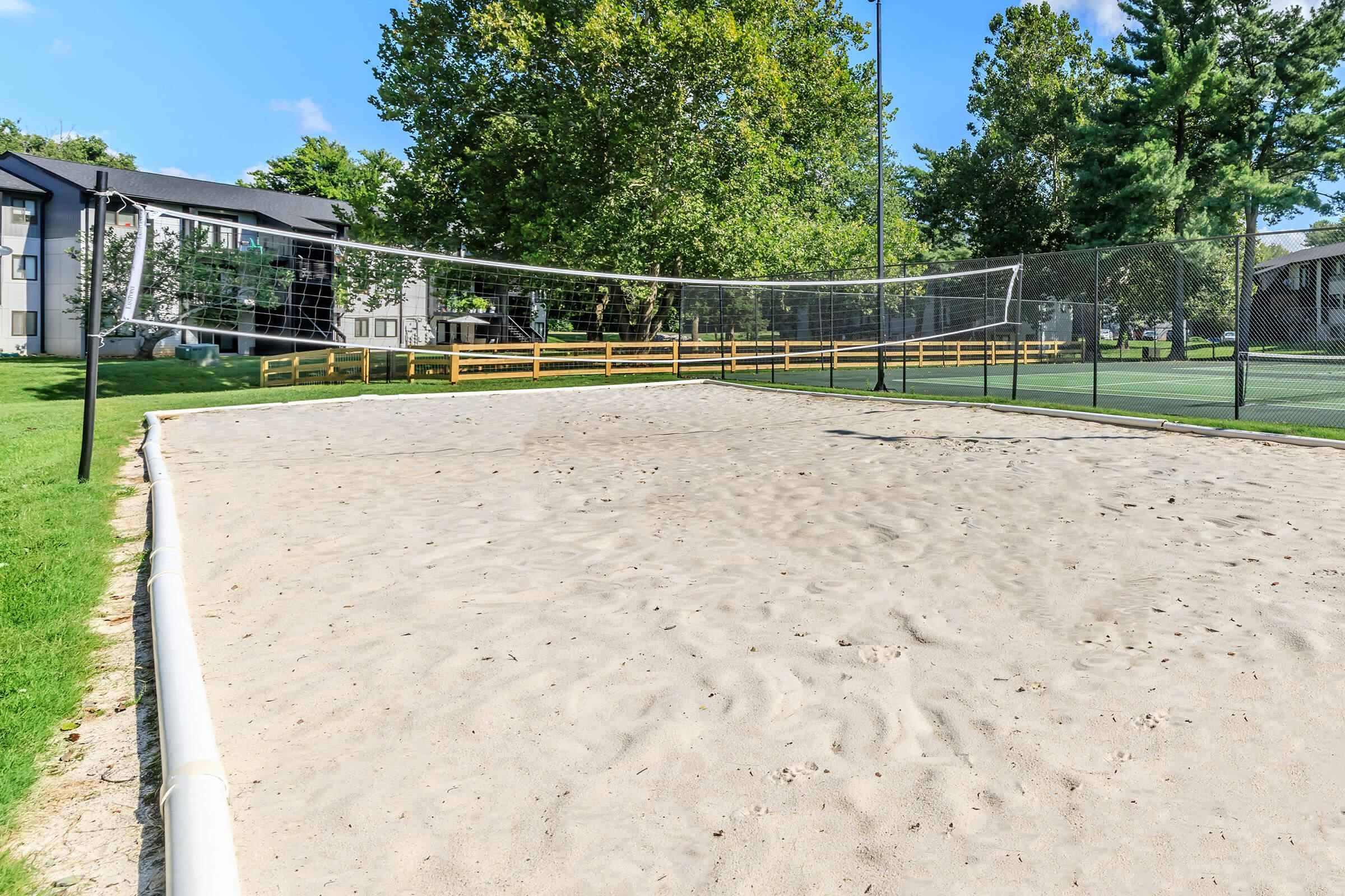 Anyone for Sand Volleyball at Brendon Park Apartments