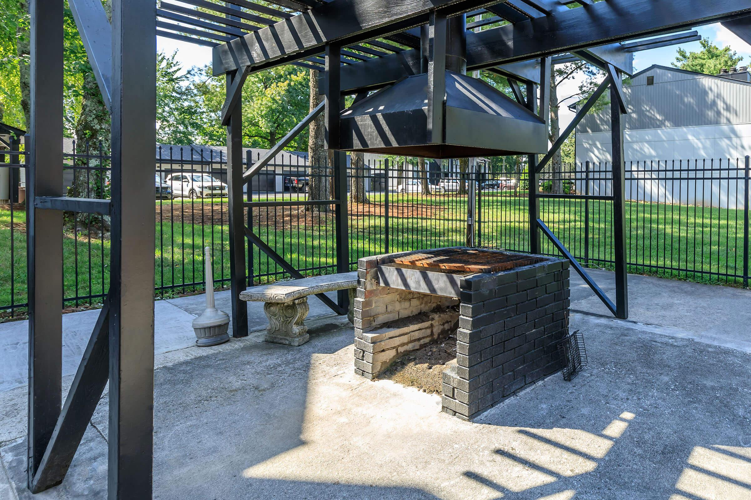 Enjoy Some Fun in the Sun In Our Picnic Area at Brendon Park Apartments