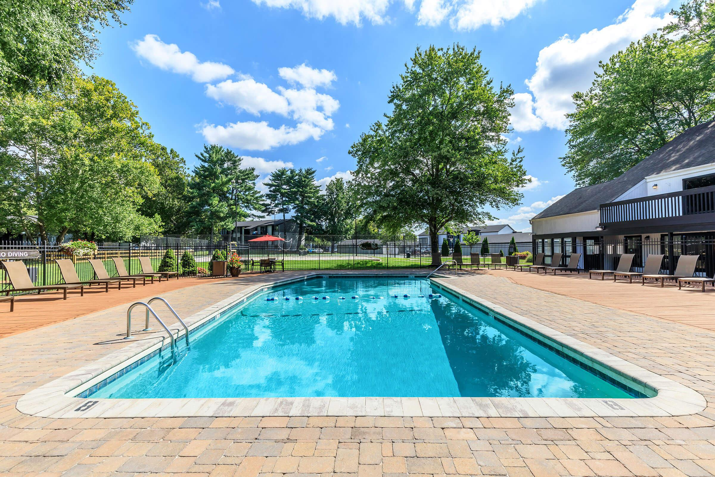 Our Pools Here at Brendon Park Apartments are the Best