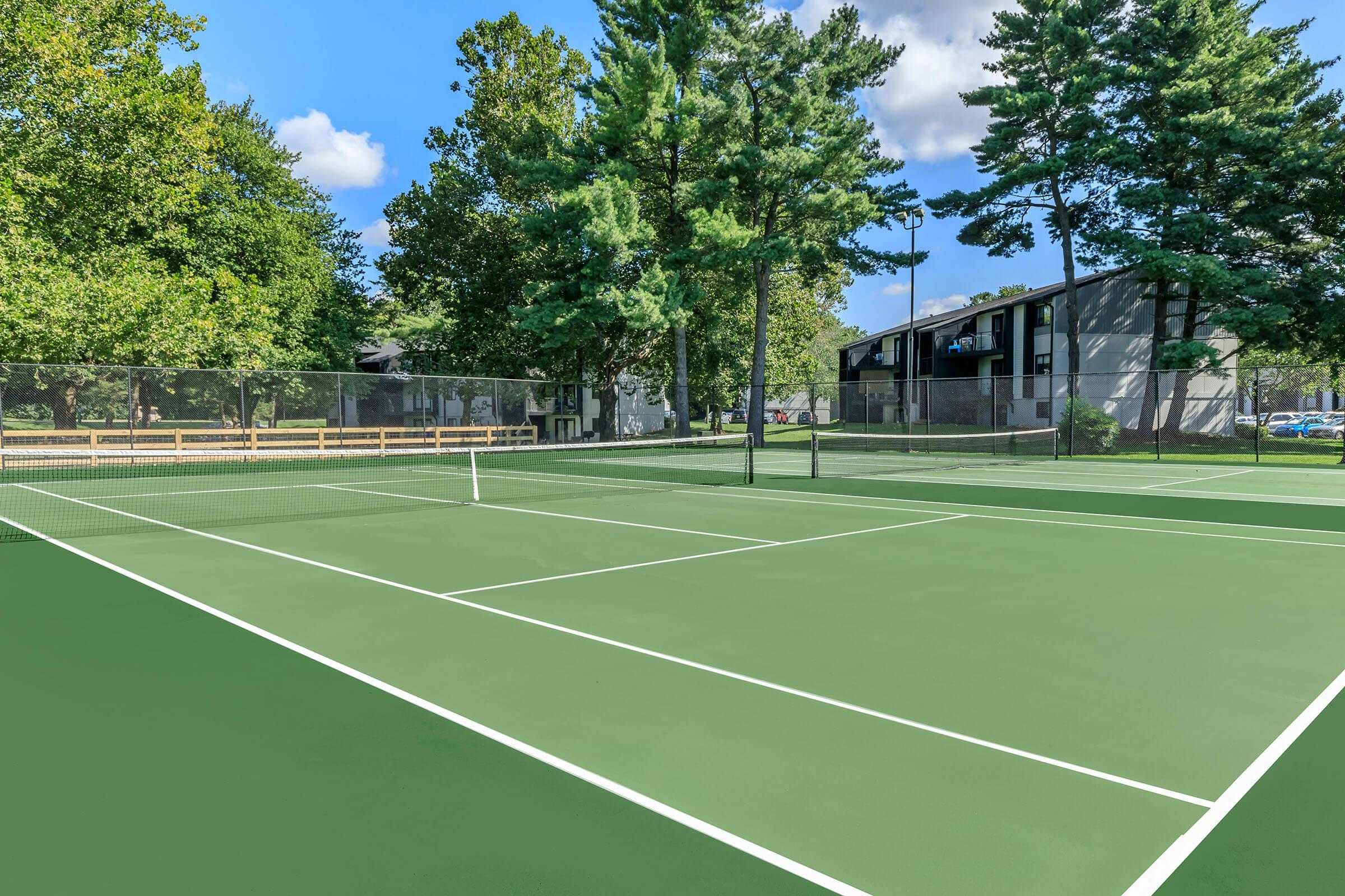 Tennis for Two Just Me and you at Brendon Park Apartments