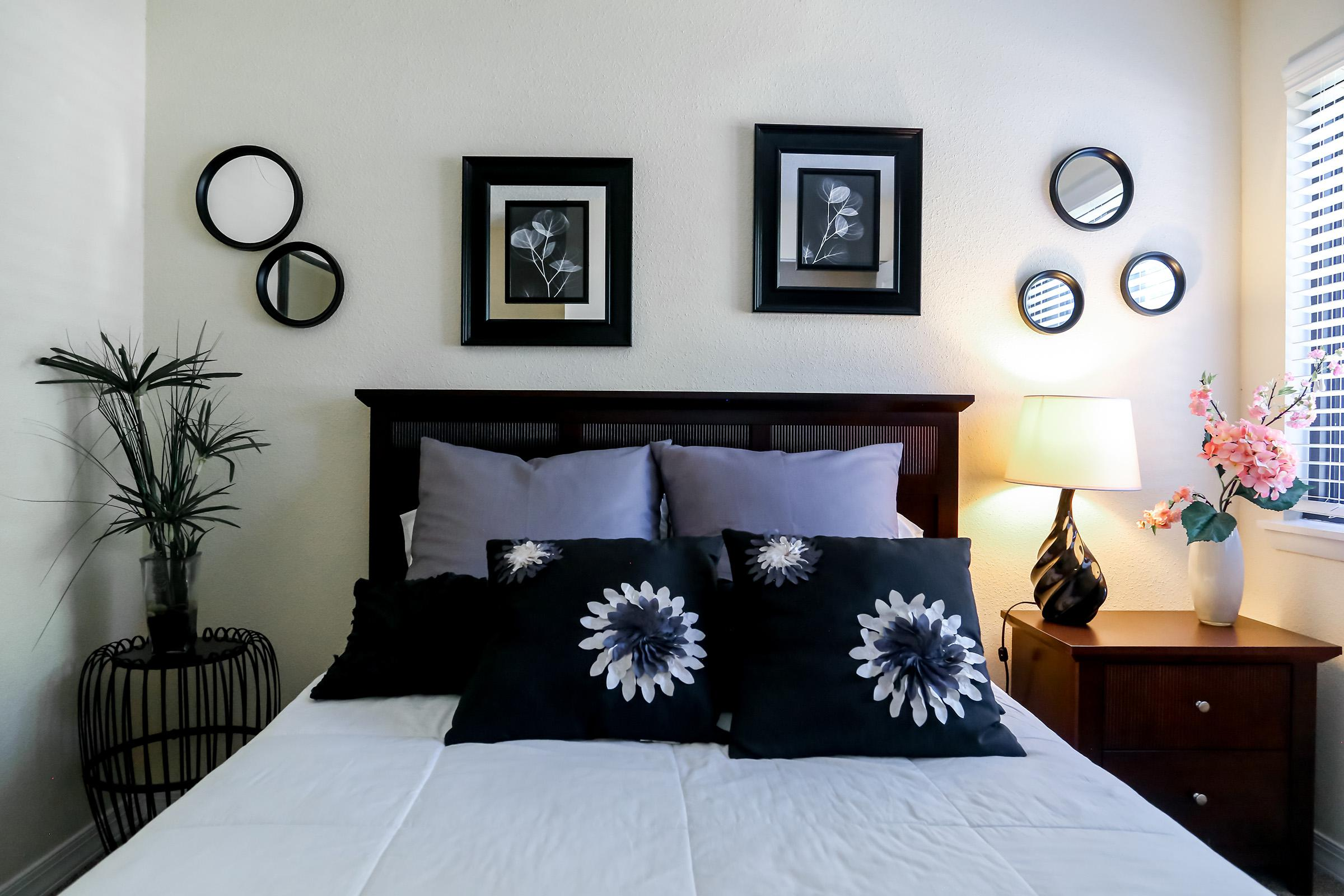 Modern Bedrooms here at Brendon Park Apartments