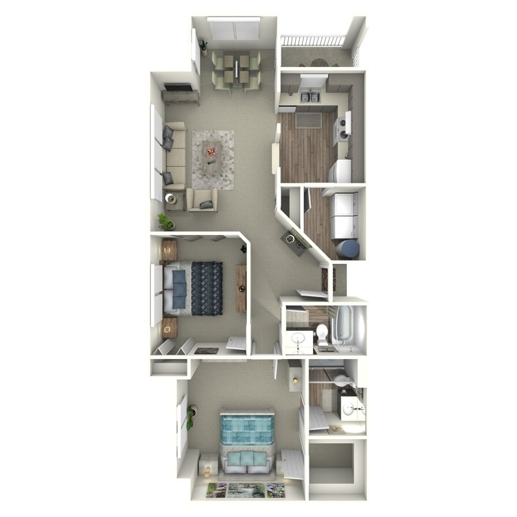 Floor plan image of Columbine