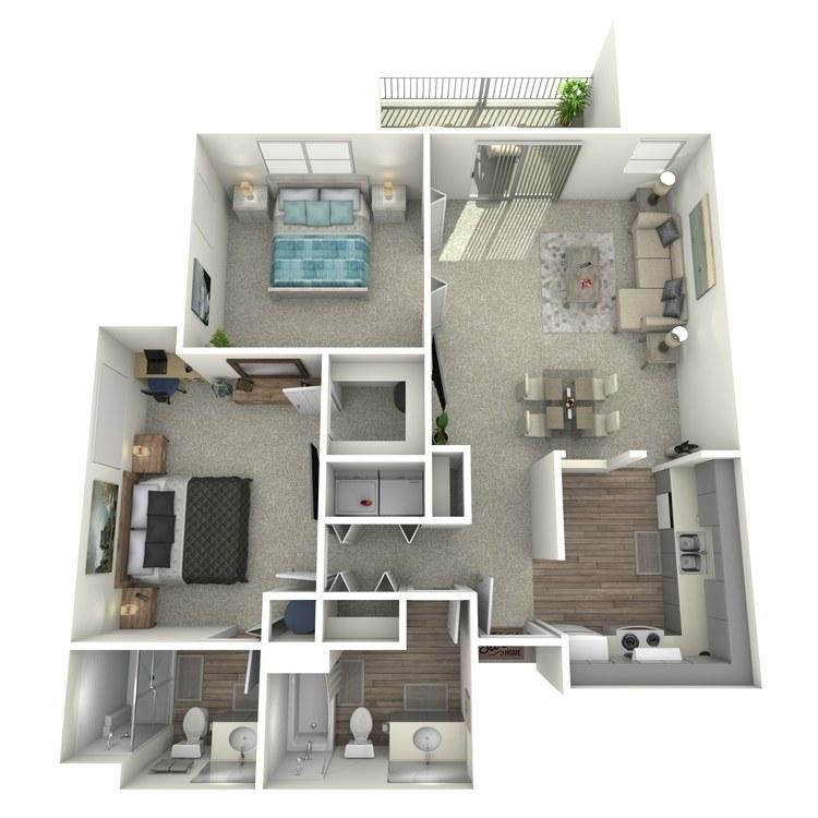 Floor plan image of Bluet