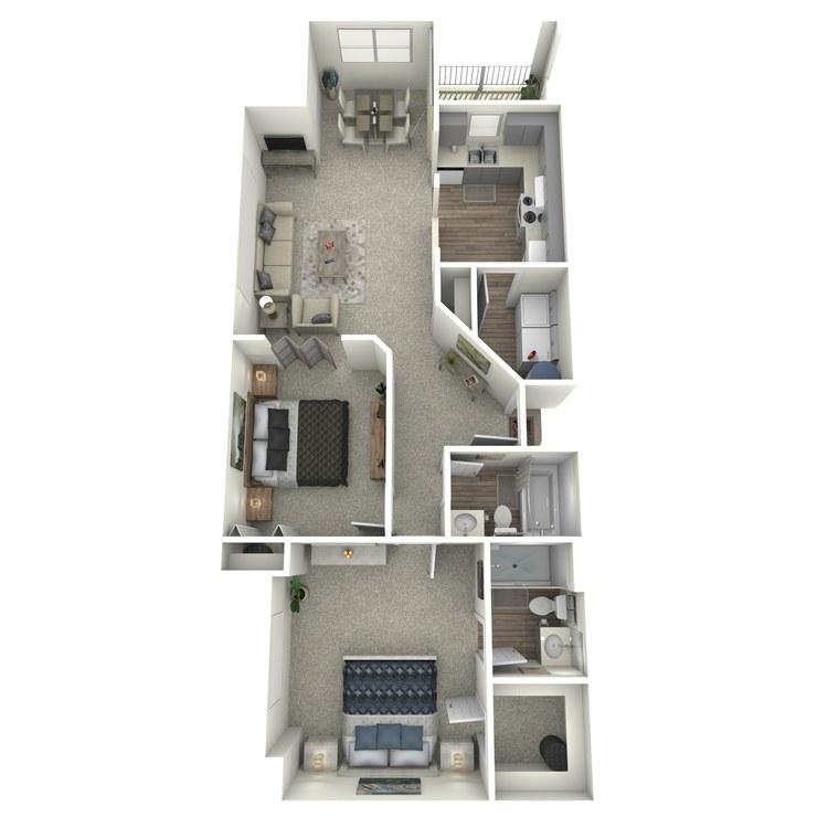 Floor plan image of Columbine