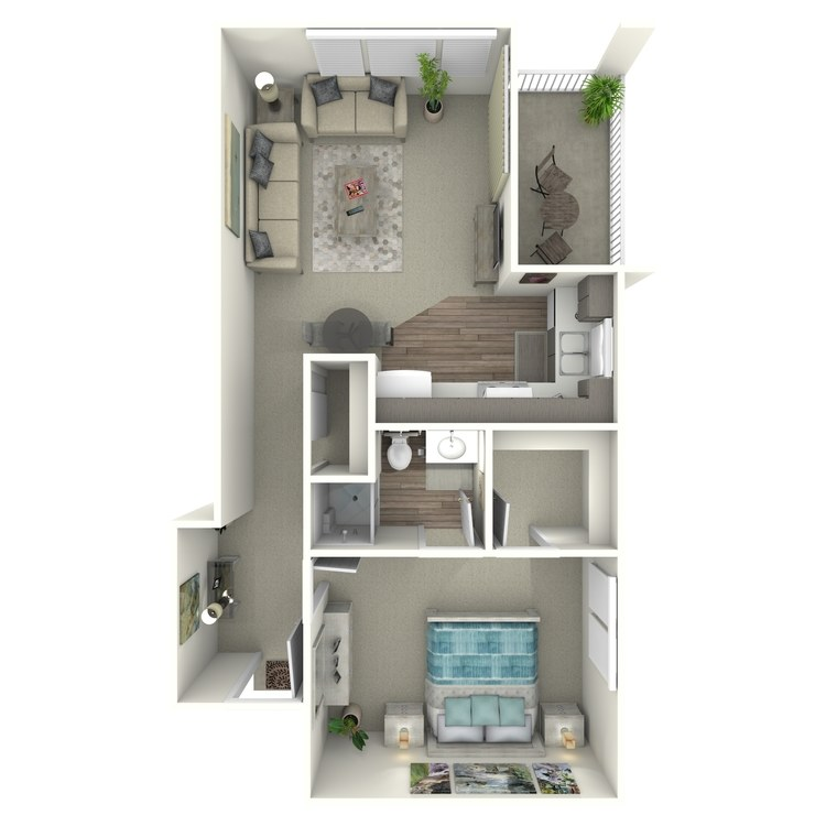 Floor plan image of Goldenrod
