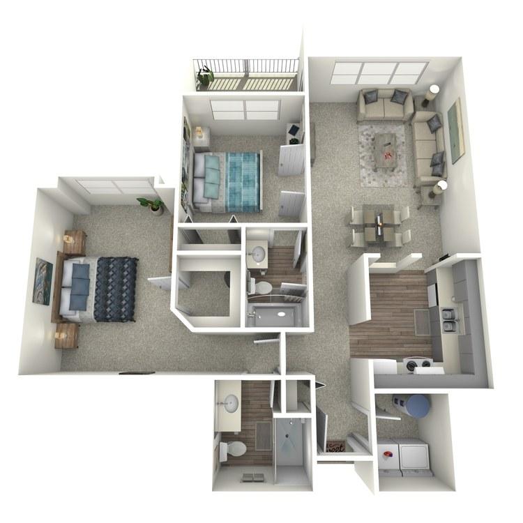 Floor plan image of Aster