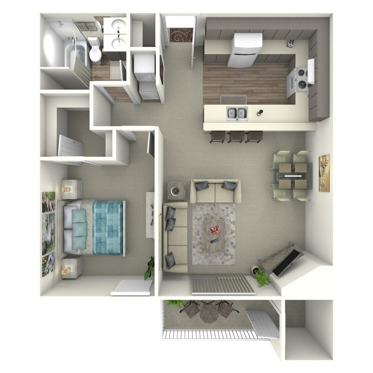 Floor plan image of Rose