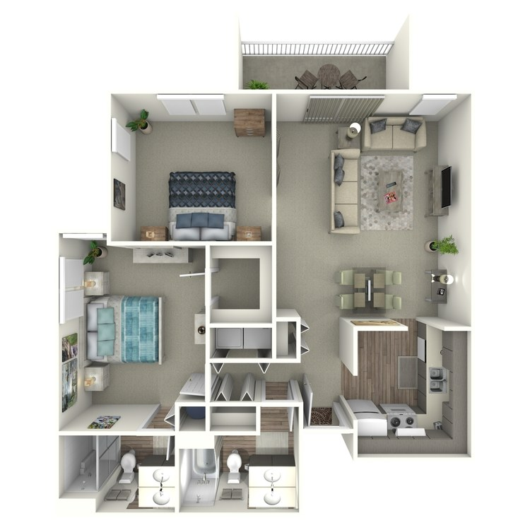 Furnish This Floor plan The Signature at