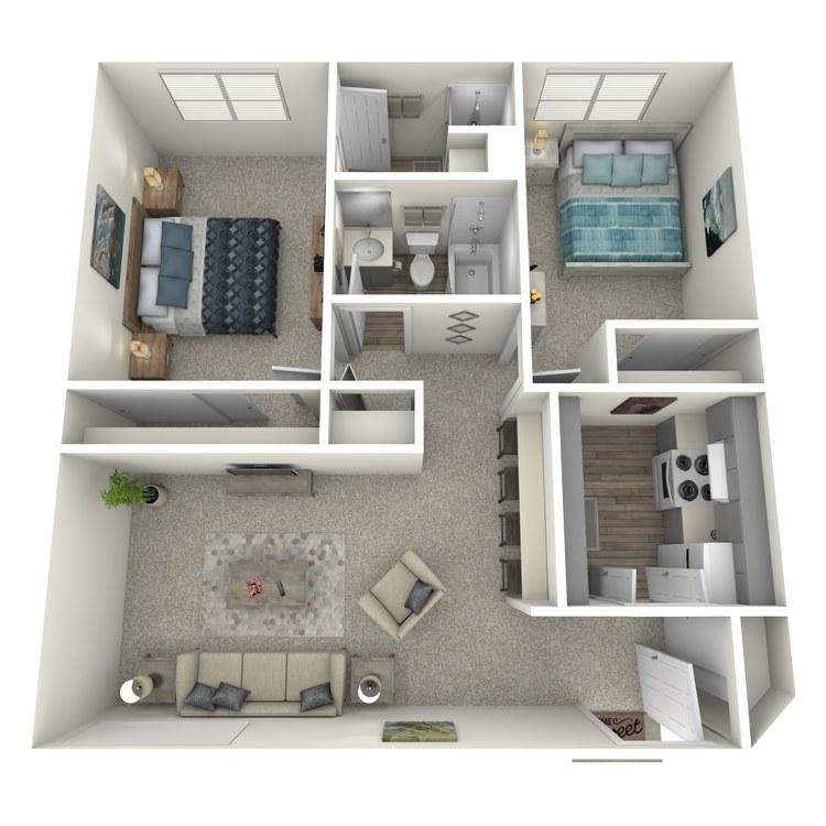 Floor plan image of Jonquil