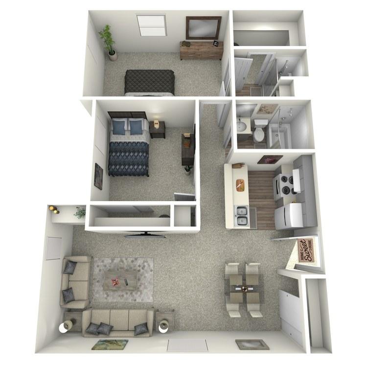 Floor plan image of Iris