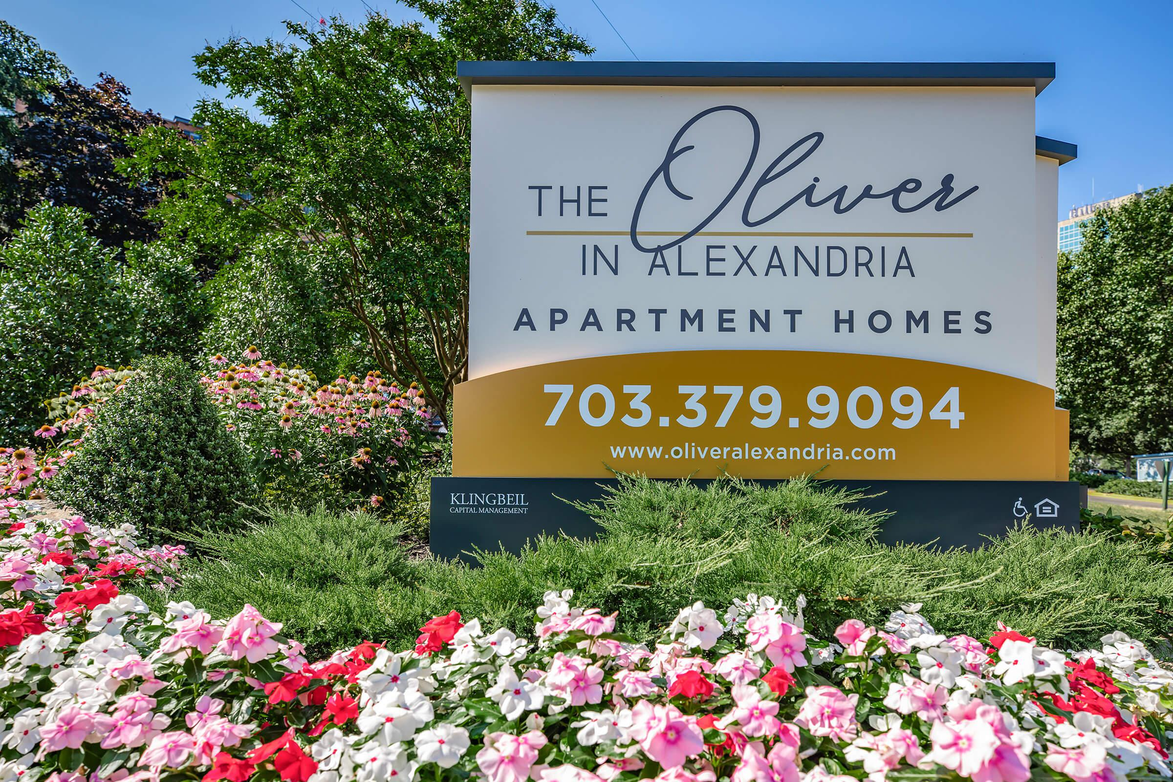 Landscaping at The oliver in Alexandria in Alexandria, VA