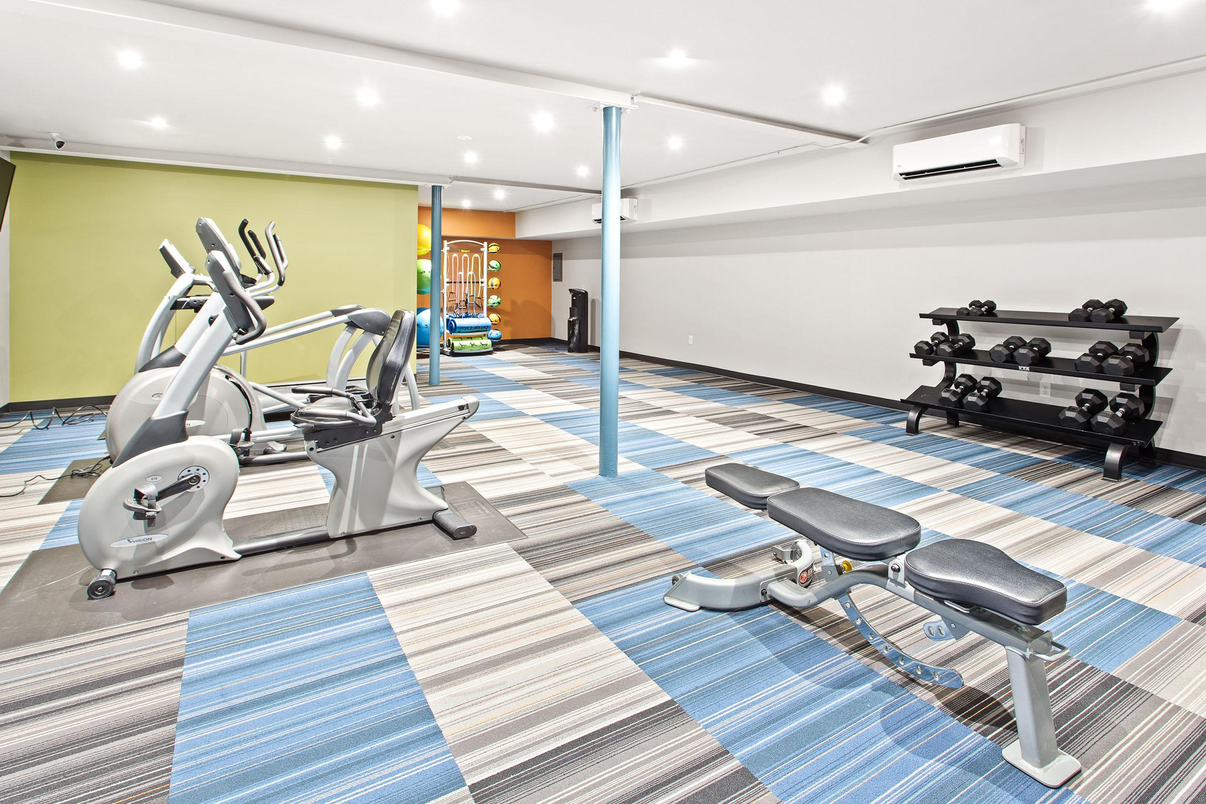 Fitness Center at The oliver in Alexandria in Alexandria, VA