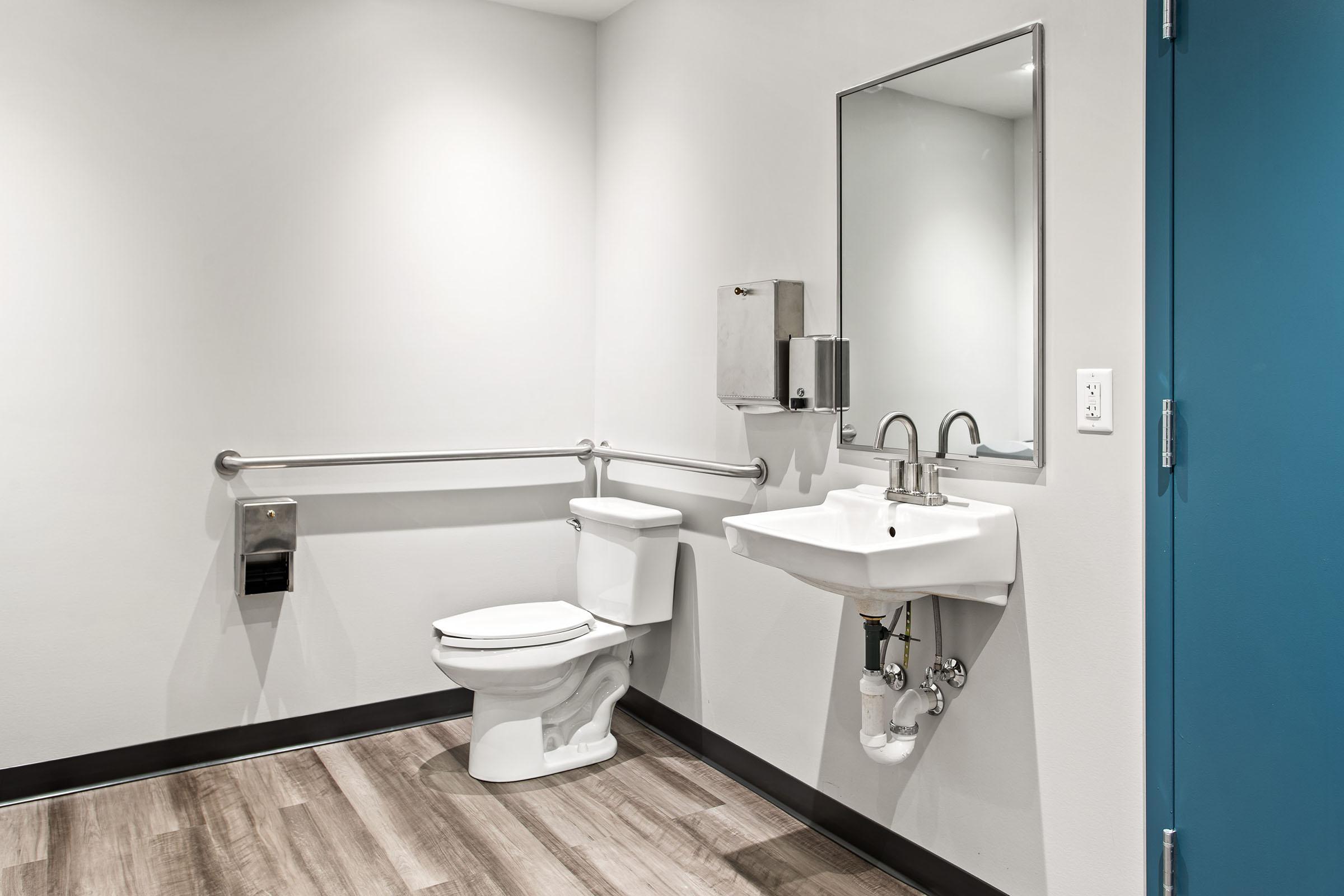 Bathroom at The oliver in Alexandria in Alexandria, VA