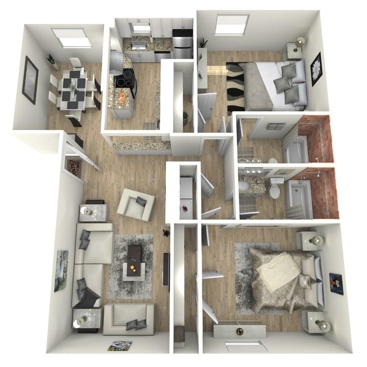 Floor plan image of B2