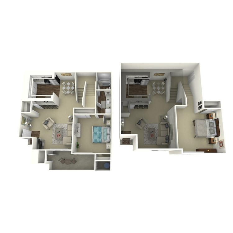 Plan BL floor plan image